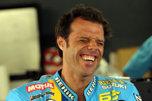 Capirossi was fastest on day one