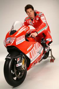 Nicky Hayden on his GP9