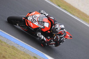 Shinya Nakano and Aprilia are fastest so far