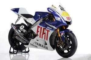 Rossi's 2009 MotoGP YZR-M1