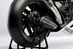 Bridgestone has released control tyre details