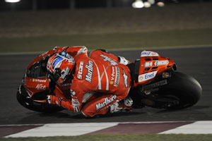 Stoner wrapped up the Qatar test fastest by far