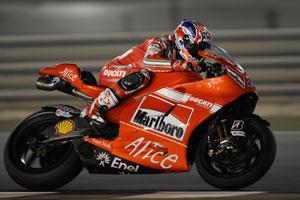 Stoner was fastest overnight in Qatar