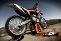 2011 KTM 350 SX-F in action and technical rundown