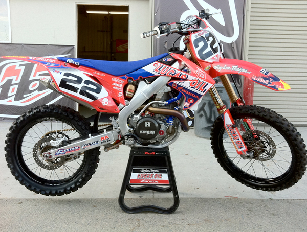 Honda Of Troy >> Ama Sx Reed Back On A Honda In Troy Lee Designs Test