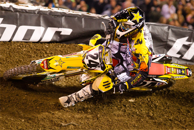 Metcalfe has taken three eighth places from three starts in his rookie 450 class season to date for Suzuki.