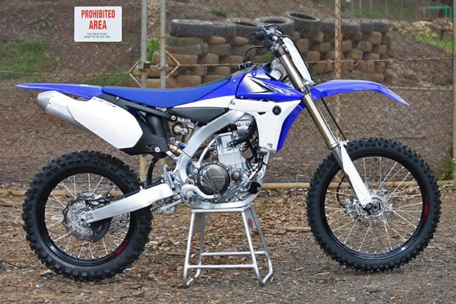 Quick Test: 2011 Yamaha YZ450F - MotoOnline.com.au