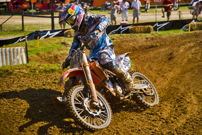 Simmonds has been on a steep learning curve since moving to the U.S in 2011. Image: KTM Images.