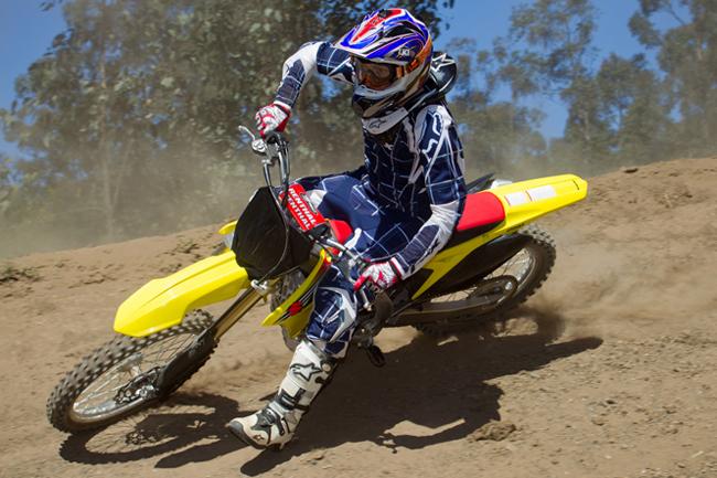 Suzuki Australia recently launched its 2012 RM-Z motocross range at Maitland. Image: Rice Photography.