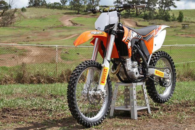Project Moto: 2012 KTM 250 SX-F Update 2