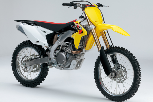 Suzuki releases details on 2013 RM-Z250 and RM-Z450