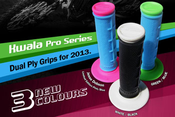Kwala Racing releases new colours in Pro Series grip range