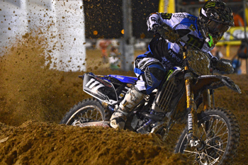 Dean Ferris took an impressive second place MX2 finish on debut for the Monster Energy Yamaha team in Qatar.