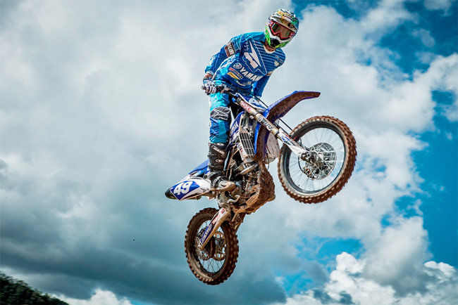 Dinsdale is one of the most exciting young prospects in Australian Motocross. Image: Greg Smith/iKapture.