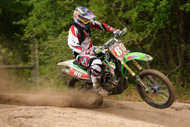 Australia's Josh Strang finished third in the XC1 Pro class at round seven of the GNCC series.
