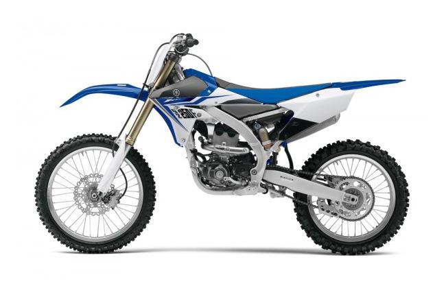 The all-new 2014 Yamaha YZ250F.