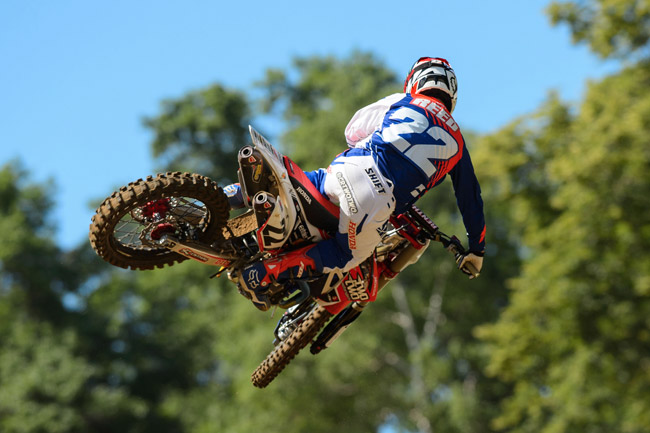 Chad Reed is an easy tip for a MXoN berth. Image: Simon Cudby.