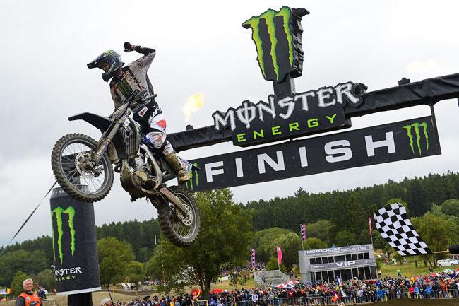 Australia's Dean Ferris wins at Bastogne for Monster Energy Yamaha.