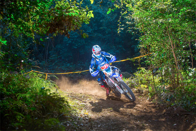 Daniel Milner on his way to sealing the 2013 title at Dungog. Image: FourOhFour.