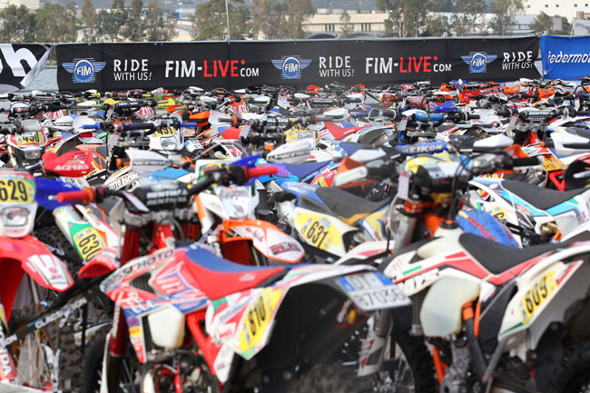 The 2013 ISDE will conclude tomorrow in Sardinia. Image: Future 7.