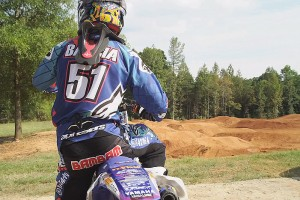 Dirt Shark: Barcia rides the Yamaha