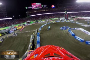 On Board: 2015 AMA Supercross Rd15 Santa Clara