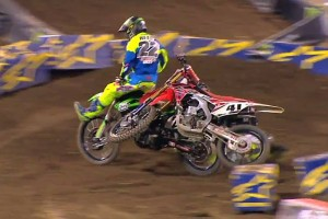 Top 10: Crashes of 2015 AMA Supercross