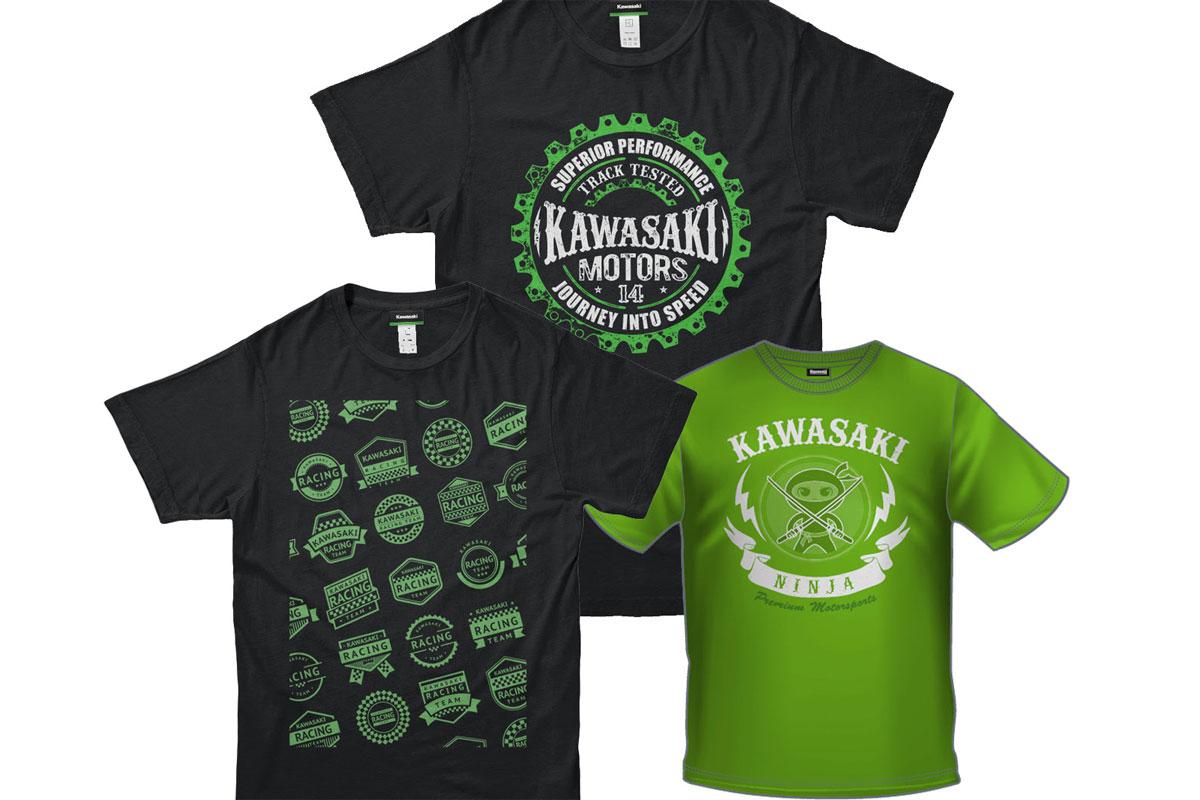 Product Kawasaki Lifestyle T Shirts Motoonline Com Au