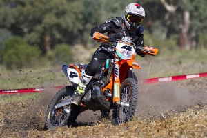 Sanders overcomes injury to maintain AORC advantage