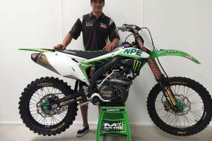 Crawford joins Kawasaki's Australian motocross and supercross team