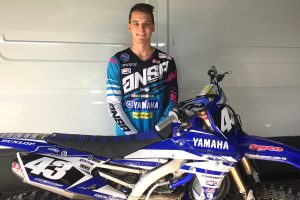 Evans primed for MX2 assault with Serco Yamaha