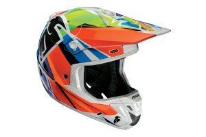 Product: 2017 Thor MX Verge Tracer helmet