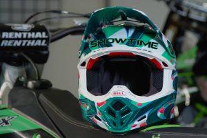 Viral: Bell Helmets McGrath replica