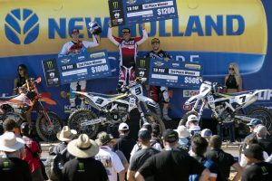 Browny gives 'em heaps for Husqvarna at Clipsal