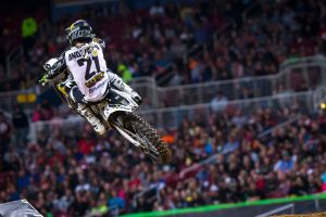Anderson confirmed for first AUS-X Open appearance