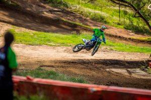 Horsham points the priority of Mega Bulk Fuels Monster Energy Kawasaki Racing Team