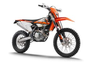 Bike: 2018 KTM EXC-F and EXC range