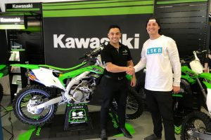 Lance Russell re-signs with Kawasaki to showcase 2018 KX450F