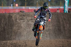 Qualifying crash halts Mastin's first-career supercross
