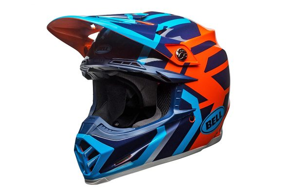 Product: 2018 Bell Moto-9 MIPS-equipped helmet