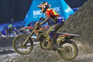Waters rounds out AUS Supercross season at mud-soaked Jimboomba