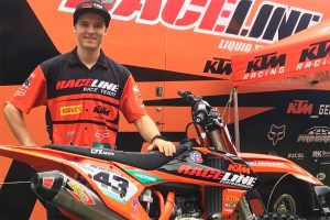 Evans to make 450 transfer for 2018 with Raceline Pirelli KTM