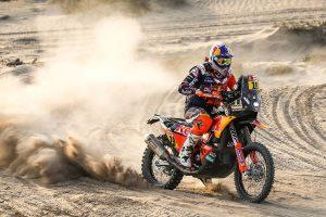 Meo heads Dakar stage six as Price edges forward