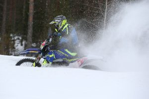 Phillips salvages E2 class podium in challenging EnduroGP season-opener