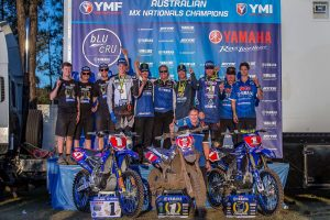 Yamaha Racing clean sweep Championship classes at MX Nationals