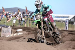 Complete Parts Kawasaki Racing's Tanti third in MX2 championship