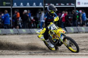 Lawrence concludes rookie EMX250 campaign with dominant win
