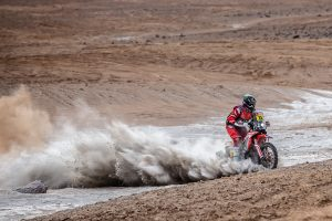 Stage four win grants Brabec Dakar Rally lead