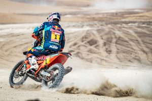 Barreda controls Dakar standings as Walkner earns stage two win