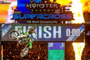 Tomac emerges with Denver supercross victory